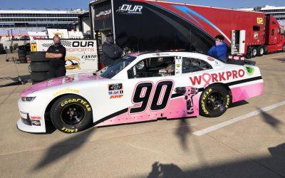 Workpro Tool Line Turns 'Pink' In NASCAR Series