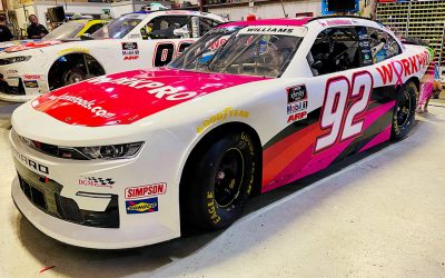Josh Williams Running Special Pink Paint Scheme in 3 Upcoming Races